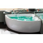 Whirlpool bathtub B1712 with air massage right version